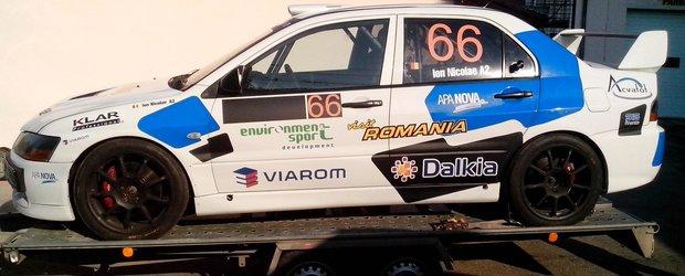 Ion Nicolae participa pentru prima data la o etapa de CNVC cu o masina integrala
