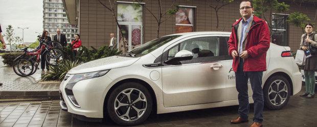 Ipocrizia politicienilor: Ministrul Mediului din Romania conduce un Opel Ampera