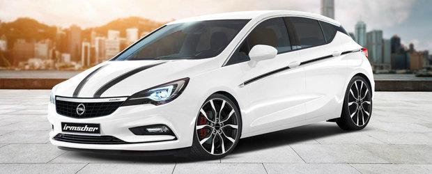 Irmscher anunta deja primul tuning destinat noului Opel Astra K