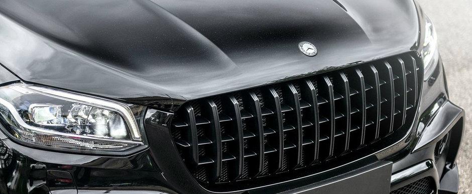 Isi vinde Mercedes-ul X-Class tunat de Kahn. Camioneta are 163 de kilometri la bord si jante pe 22