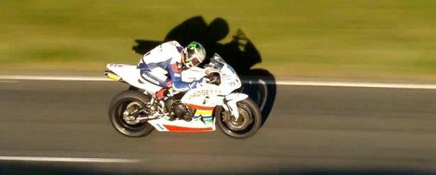 Isle of Speed: un alt clip senzational plin de viteza despre Isle of Man si cursa moto