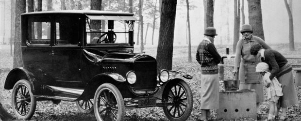 Istoria marcii Ford intr-o singura imagine