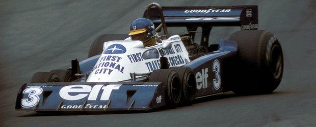 Istoria monoposturilor Tyrell P34, masina de Formula 1 cu 6 roti