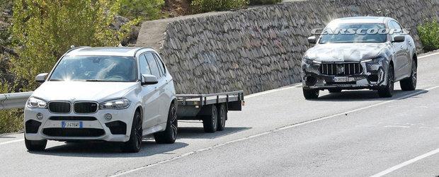 Italienii au cumparat un BMW X5 M ca sa vada cat de performant e SUV-ul cu motor de Ferrari pe care il lanseaza anul viitor