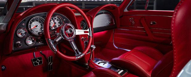 Iti iei gandul de la orice Corvette de ultima generatie. Acest exemplar modernizat este tot ce ti-ai putea dori