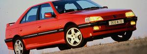 Iti mai aduci aminte: cand Peugeot a lansat in 1993 un 405 cu motor turbo si pana la 220 CP?