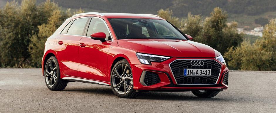 Iti vine sa crezi? Audi a ieftinit deja noul A3, la numai doua luni si jumatate de la lansarea in Romania