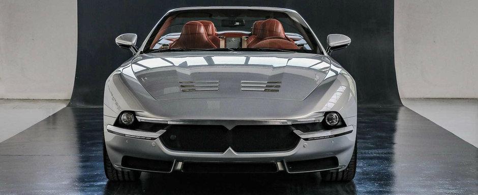 Iti vine sa crezi sau nu, dar masina asta este de fapt un Maserati. Vor exista doar 15 exemplare asamblate manual