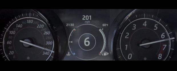 Iubeste viteza mai mult decat orice altceva. Letty din Fast & Furious depaseste 320 km/h intr-un Jaguar de 575 CP