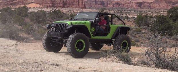 Iubitorii de off-road il vor adora. Jeep scoate la iveala un Wrangler cu motor de 707 CP si roti de 39.5 inch
