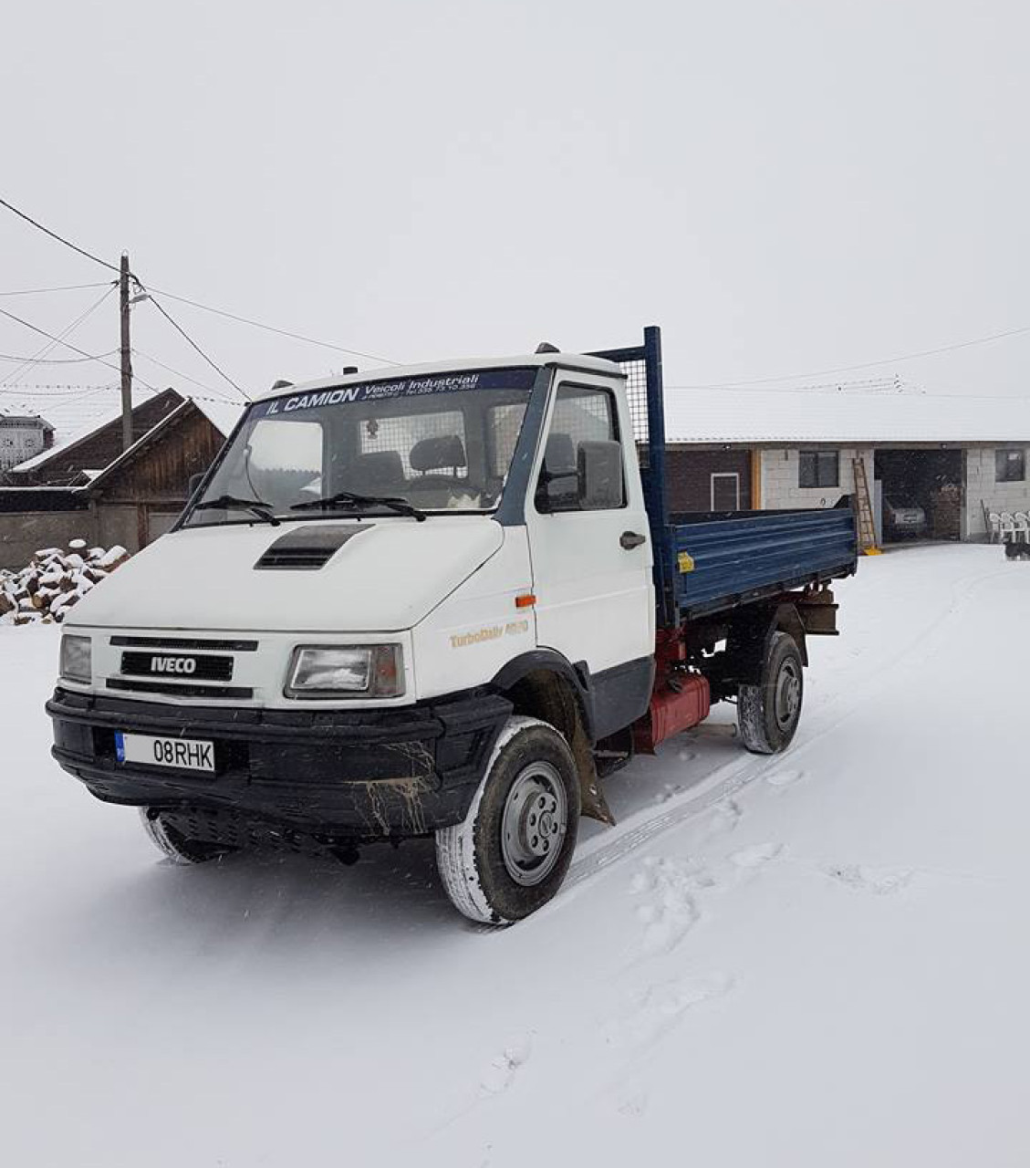 Iveco Daily 40-10, 4x4 1996