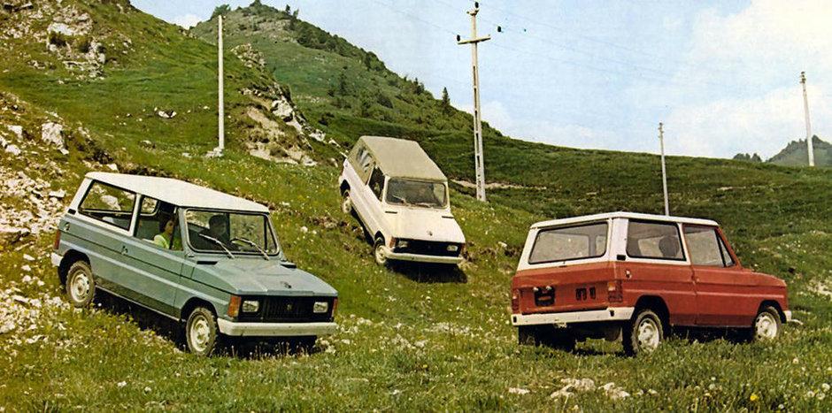 Jacheta Dacian Blue si jante sport: Ce accesorii de off-road avea Dacia Duster in 1989?