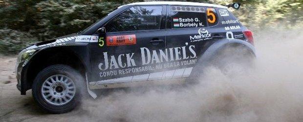 Jack Daniel's Rally Team a condus responsabil la Raliul Aradului si a urcat pe podium