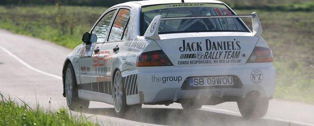 Jack Daniel's Rally Team urmareste o noua clasare in puncte la Raliul Moldovei