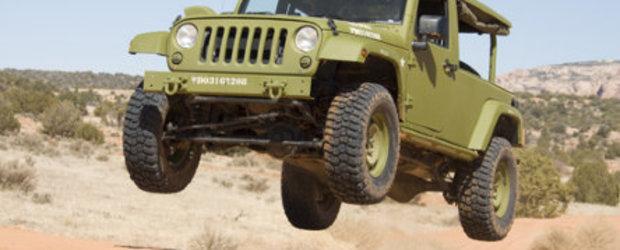 Jackpot: Politia Capitalei primeste un Jeep J8
