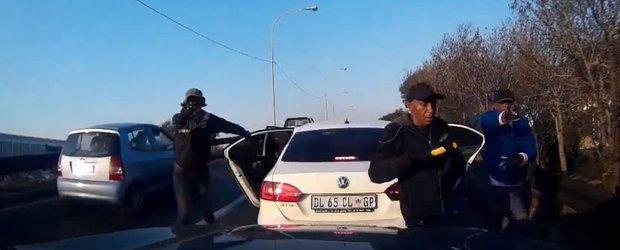 Jaf armat al unei masini in Africa de Sud