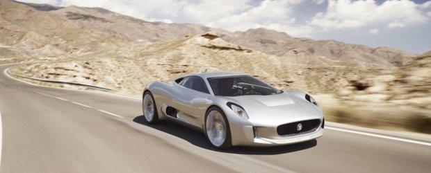 Jaguar are de gand sa scoata pe piata modelul futurist C-X75