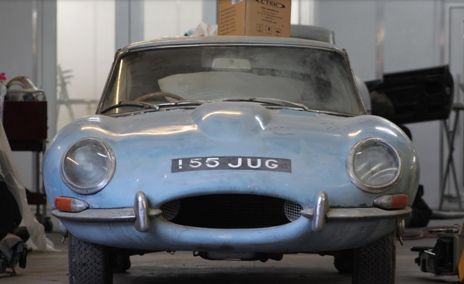 Jaguar E-Type Series 1 restaurat