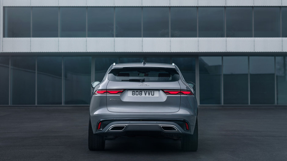 Jaguar F-Pace Facelift