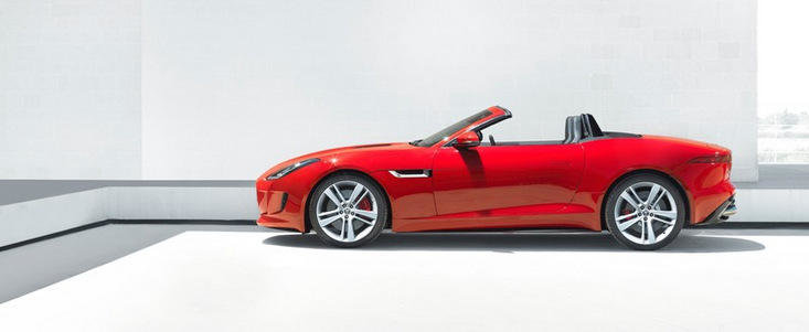 Jaguar F-Type - Noi imagini, plus primele cadre cu interiorul