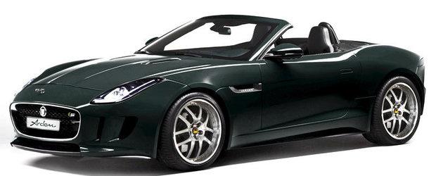 Jaguar F-Type primeste un kit de tuning de la Arden