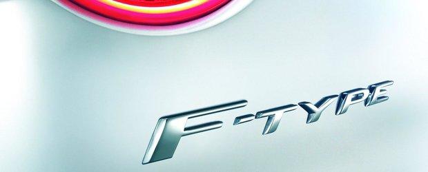 Jaguar F-Type Roadster vine la Paris Motor Show