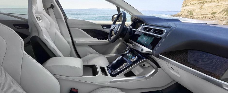 JAGUAR LE-A LUAT-O INAINTE NEMTILOR. Compania britanica a lansat un rival pentru Tesla cu autonomie de 480 km