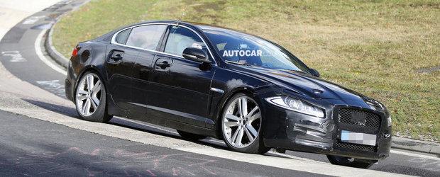 Jaguar lucreaza deja la noile limuzine XF si XJ