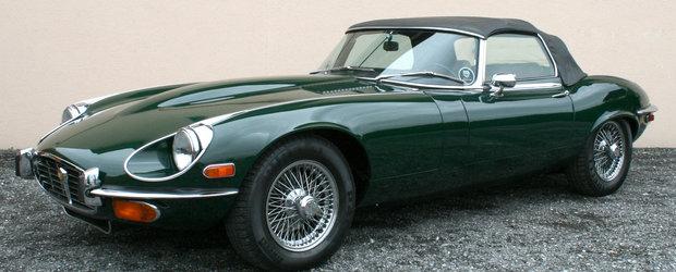 Jaguar lucreaza la un succesor al lui E-Type, cabrio cu 2 locuri