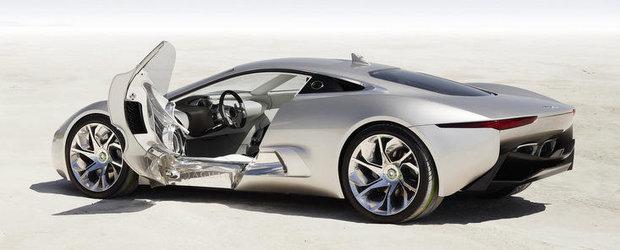 Jaguar nu va fabrica versiunea de serie a lui C-X75