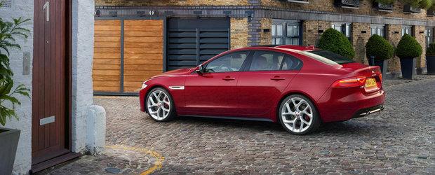 Jaguar ofera noi detalii despre motorizarile lui XE