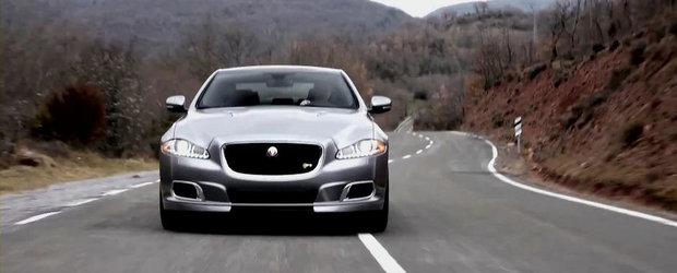 Jaguar prezinta in actiune si detaliu noul XJR. VIDEO AICI!