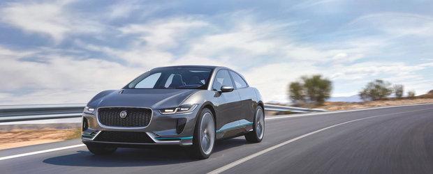 Jaguar prezinta primul SUV electric din istoria marcii. Noul I-Pace vine cu performantele unui F-Pace R
