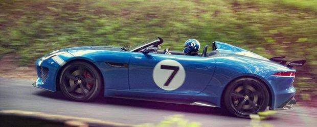 Jaguar prezinta Project 7. Video si imagini in articol.