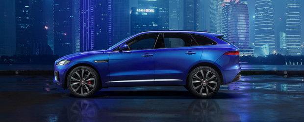 Jaguar publica prima imagine oficiala a noului F-Pace