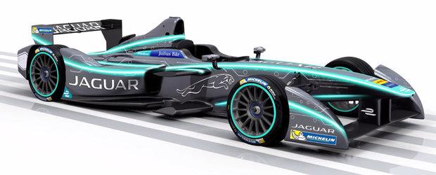 Jaguar revine in lumea sporturilor cu motor. Britanicii intra in Formula E