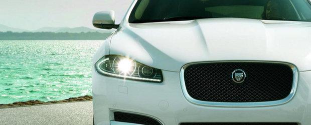 Jaguar XF primeste un nou 2.2 diesel, plus alte mici imbunatatiri