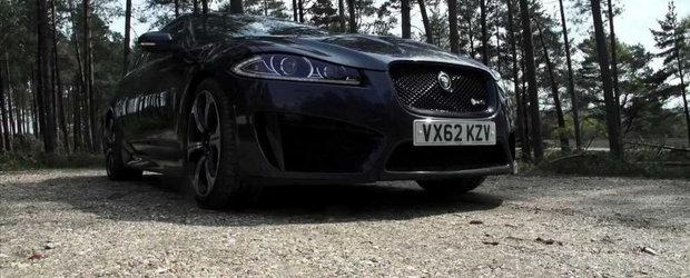 Jaguar XFR-S aminteste de visurile copilariei