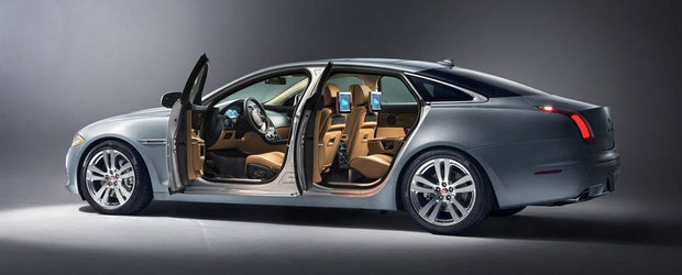 Jaguar XJ primeste cateva imbunatatiri la mijloc de cariera