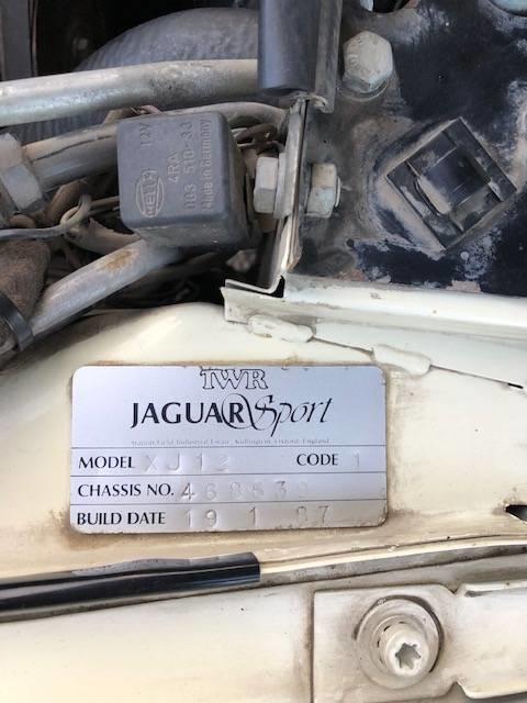 Jaguar XJ12 TWR de vanzare - Jaguar XJ12 TWR de vanzare