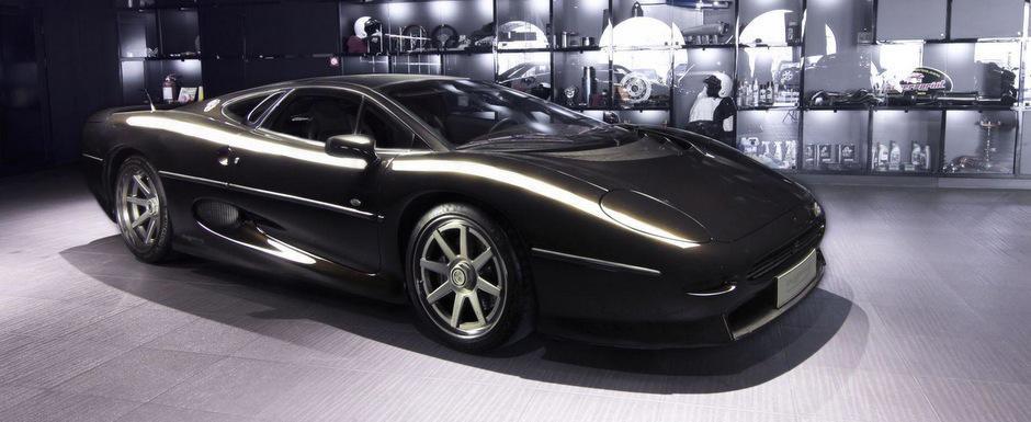 Jaguar XJ220 by OVERDRIVE sau Cum sa strici un automobil de legenda