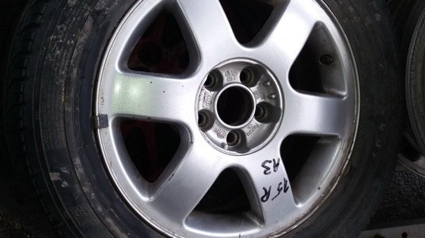 Janta aliaj Audi A3, R15, 5 x 100, cod : AUD-4A-17