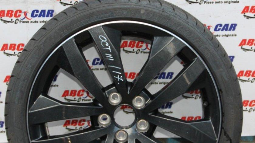 Janta aliaj cu anvelopa Dunlop 5X100 7JX17H2 ET 41 Skoda Octavia 3 model 2015
