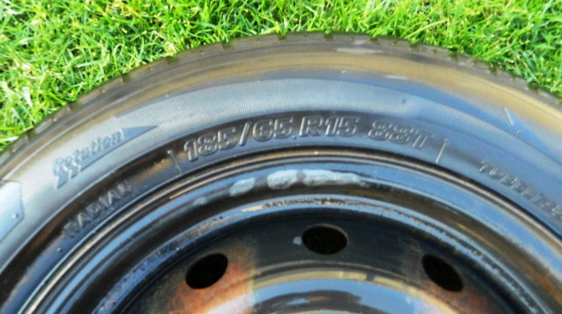 Janta cu Cauciuc Dacia Logan Roata de rezerva Logan cauciuc Tiger Sigura 185 65 R15