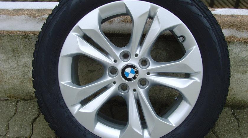Janta de aliaj Noua 5x112 pe 17 originala BMW X1 F48 + senzor de presiune aer + anvelopa, totul nou