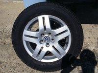 """Jante 15"""" VW Golf 4 Seat Leon Audi A3  cu anvelope de vara CA NOI !"""