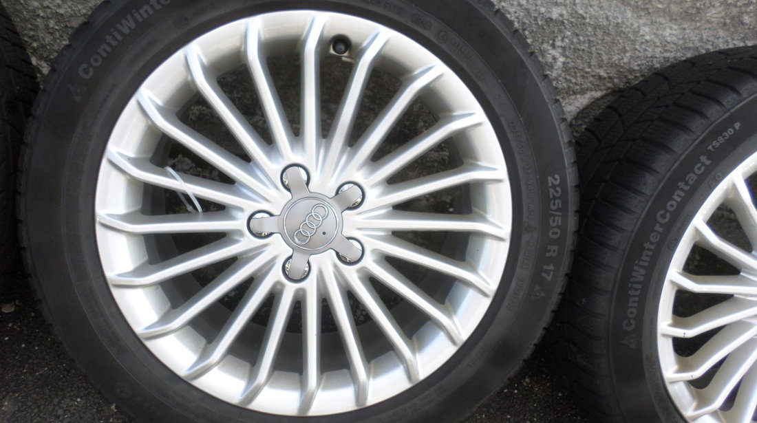 Jante 17 Audi A4 b8 ,b9  Iarna 225 50 17 Continental dot (4914)