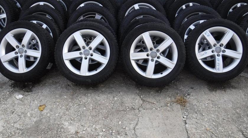 Jante 17 Audi A4 b8 ,b9 Iarna 225 50 17 Continental si Dunlop  dot (1618)