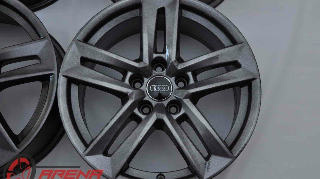 Jante 17 inch Originale Audi A4 8W B9 R17 Gri Antracit