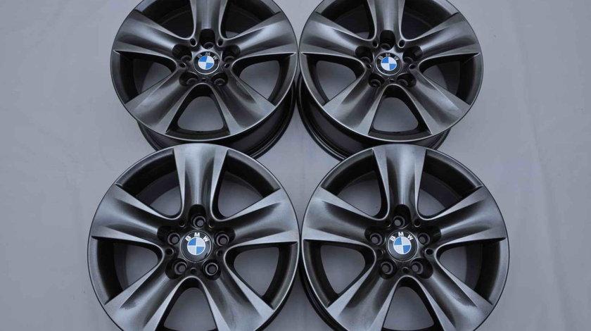 Jante 17 inch Originale BMW Seria 5 F10 F11 Seria 6 F12 F13 F06 Style 327 Gri Antracit